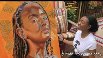 Creating Her Own Canvas: Howard University Painter Turns Passion Into Positivity - The Hilltop Online