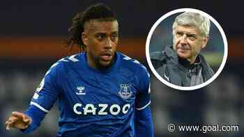 Iwobi reveals Wenger's advice he's following at Everton