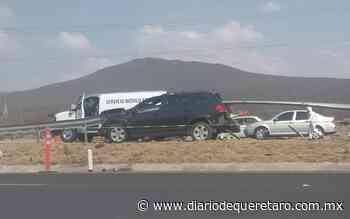 Conductor muere degollado tras percance en el Surponiente - Diario de Querétaro