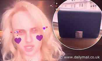 Rebel Wilson is gifted a Givenchy handbag worth $3,250 in Paris