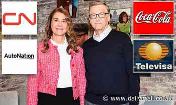 Bill Gates shifts another $120million in Coca Cola stock into his wife Melinda's name