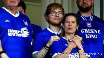 Ed Sheeran steps in to sponsor hometown club's shirt next season