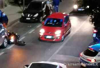 Torre del Greco, violento incidente nei pressi di Palazzo Vialdo: coppia in moto salva per miracolo - ErreEmme News