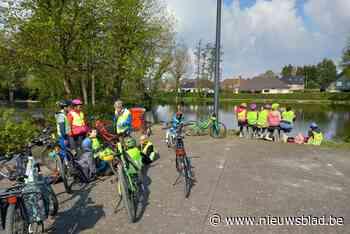 Oudercomité De Klimop stuurt leerlingen op pad met de fiets - Het Nieuwsblad