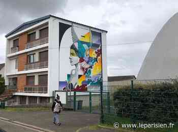 Mantes-la-Jolie, Gargenville, bientôt Magnanville et Achères... le street art s'impose sur les bâtiments du nord des Yvelines - Le Parisien