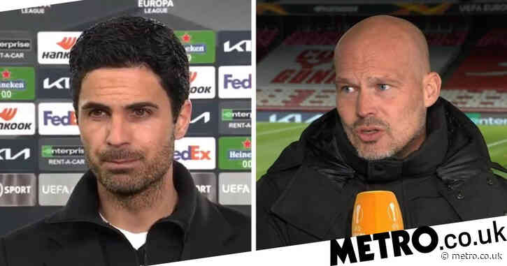 Freddie Ljungberg 'hopes' Mikel Arteta keeps Arsenal job despite dismal Villarreal defeat in Europa League