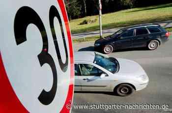 Verkehrssituation in Filderstadt - Wo ist Tempo 30 möglich, und wo nicht? - Stuttgarter Nachrichten