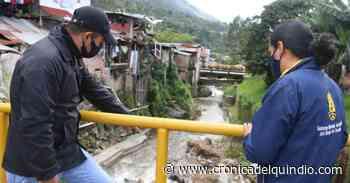 Pijao en alerta roja temprana por riesgo de deslizamiento y crecida de fuentes hídricas - La Cronica del Quindio