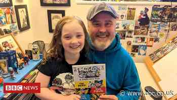 Made of Steel comic: Artist dad inspired by 'bolshie and brave' daughter