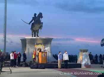 La Antorcha Bolivariana llegó al estado La Guaira - El Universal (Venezuela)