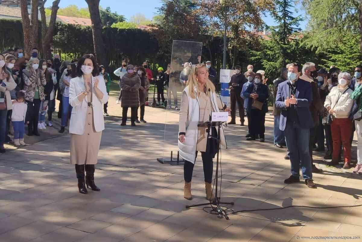 COLLADO VILLALBA/ Satisfacción de Mariola Vargas (PP) ante la victoria de Isabel Díaz Ayuso - Noticias Para Municipios