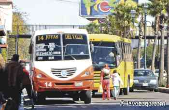 Transportistas nunca han relajado medidas sanitarias: Medina Samaniego - La Voz de Durango