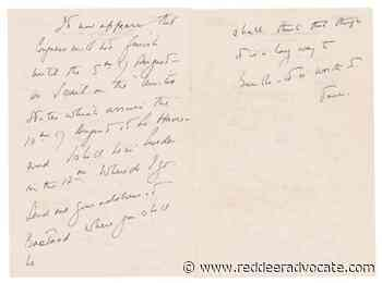 'Anxious to see you:' JFK letters to Swedish lover auctioned - Red Deer Advocate