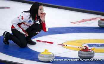 Einarson continues world curling comeback bid, suspension of broadcasts extended - Red Deer Advocate