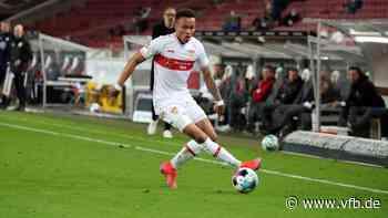 Roberto Massimo vor VfB Stuttgart-FC Augsburg - VfB Stuttgart