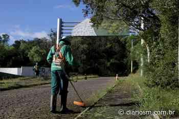 Prefeituras de Santa Maria e Itaara fazem limpeza na estrada do Perau - Diário de Santa Maria