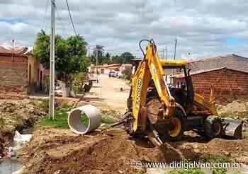 Santa Maria: Prefeitura promove recuperação de saneamento em ruas do Santa Luzia - Blog do Didi Galvão