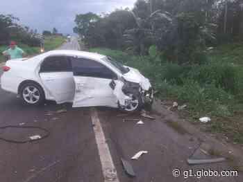 Acidente em Santa Maria do Pará deixa ao menos uma pessoa morta e outra ferida - G1