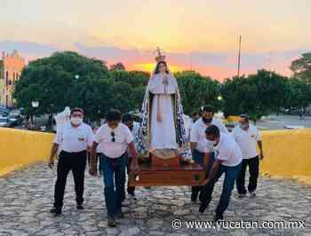 Procesión en Izamal - El Diario de Yucatán