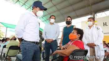 Supervisa Vila Dosal aplicación de segunda dosis en Izamal - Reporteros Hoy