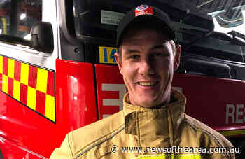 Woolgoolga's Baden Mayes has graduated at Sydney's Fire & Rescue NSW Emergency Services Academy - News Of The Area