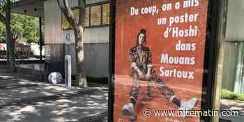 Mouans-Sartoux installe une affiche pour soutenir l'artiste Hoshi, victime de discrimination - Nice-Matin