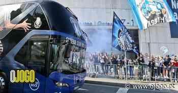 As imagens da partida do FC Porto com uma tarja em destaque - O Jogo