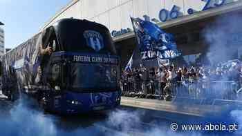 Centenas na saída da equipa para Lisboa (vídeo) - A Bola