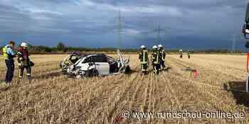 BMW überschlägt sich mehrfach: Zwei Schwerverletzte nach Unfall in Manheim-neu - Kölnische Rundschau