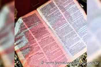 Bíblia, praticamente intacta, é encontrada entre os destroços do incêndio em Jaraguá do Sul - Jornal de Pomerode