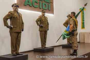 Passagem de Comando e promoção de praças e oficias da Gein é realizada - Jornal de Pomerode