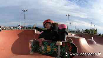 Port-Leucate : Louise-Aina Taboulet, espoir du skateboard français - ladepeche.fr