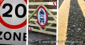 The £6.5k wooden gate to stop doggers in Solihull and other costly road schemes - Birmingham Live