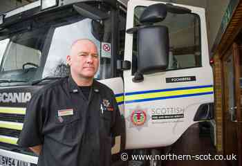 Fochabers firefighter takes on top Scottish role with union - Northern Scot