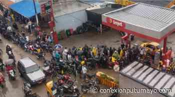 En Puerto Asís se registran largas filas en estaciones de combustible - Conexión Putumayo
