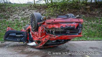 Auto Überschlagen: Unfall auf der B29 zwischen Westhausen und Lauchheim | Ostalbkreis - Schwäbische Post