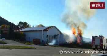 Lauchheim: Gewerbegebiet geriet in Flammen | schwäbische - Schwäbische