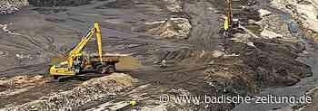 Sedimente werden im Becken gehalten - Wehr - Badische Zeitung