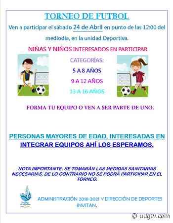Dirección de deportes de San Diego de Alejandría invita al Torneo de Futbol - UDG TV - UDG TV