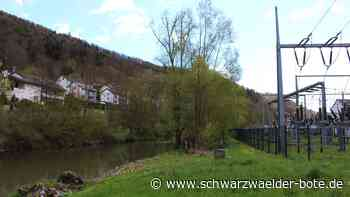 Hochwasserschutz in Oberndorf - Stahlbeton-Mauern sichern Stromversorgung - Schwarzwälder Bote