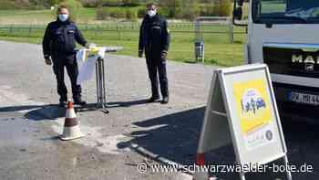 Polizeiaktion in Oberndorf - Radfahrer im Fokus - Schwarzwälder Bote