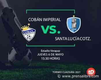 Santa Lucía Cotz. saca un importante empate 1-1 en su visita a Cobán - Prensa Libre