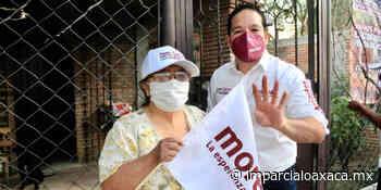 """""""Mi sueño es transformar Santa Lucía"""": García Márquez - El Imparcial de Oaxaca"""