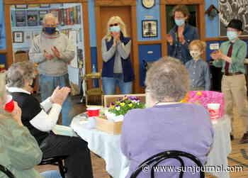 Longtime Phillips volunteer Winona Davenport celebrates 86th birthday with friends - Lewiston Sun Journal