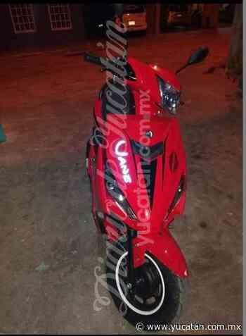 Reportan el robo de una motocicleta en Ticul - El Diario de Yucatán