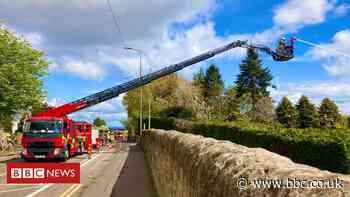 Huge fire rips through Lanark Road Nursery in Edinburgh