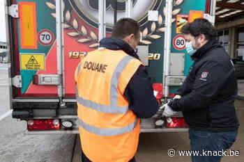 Douaniers voeren morgen actie aan grenzen - Knack.be