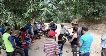 Crisis en Catatumbo: familias completas se desplazan hacia Hacarí ante la cruda violencia - Blu Radio