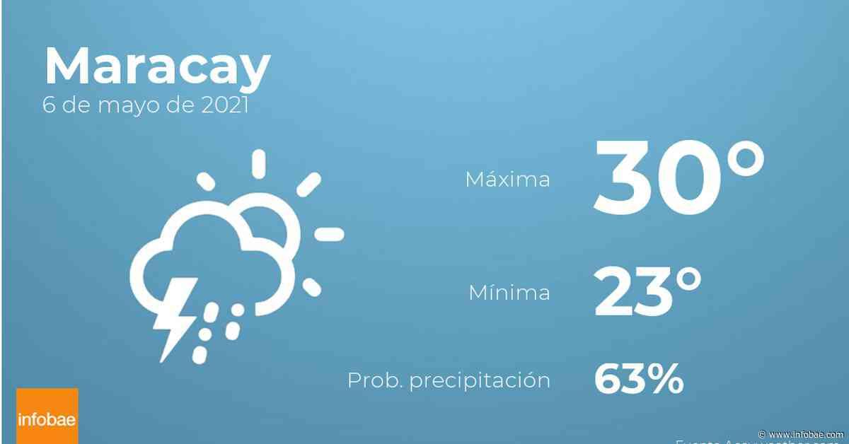 Previsión meteorológica: El tiempo hoy en Maracay, 6 de mayo - infobae