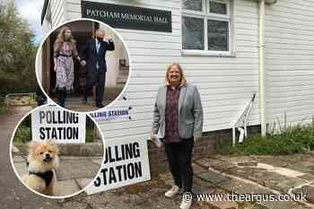 Election 2021: Hundreds vote on Brighton by-election